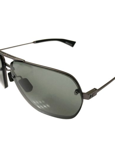 Under Armour Hi Roll Sunglasses UA - Satin Gunmetal Frame - Gray Lens