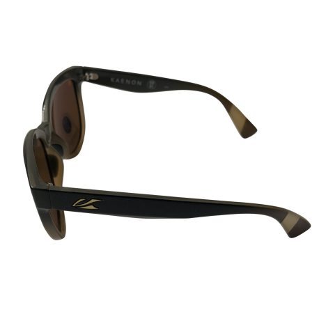 Kaenon Lina Sunglasses - Tiramisu Brown Frame - POLARIZED Gold Brown Lens