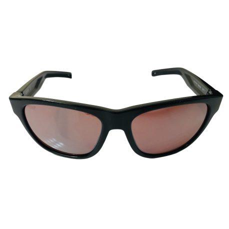 Costa Del Mar Bayside Sunglasses - Shiny Black POLARIZED Silver Copper 580P Mirror