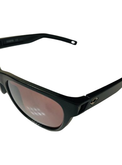 Costa Del Mar Bayside Sunglasses - Shiny Black POLARIZED Silver Copper 580P Mirror