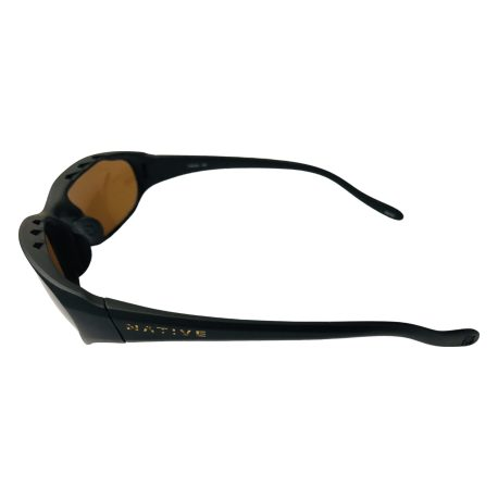 Native Eyewear Throttle Sunglasses - Matte Black Frame - Polarized Brown Lens
