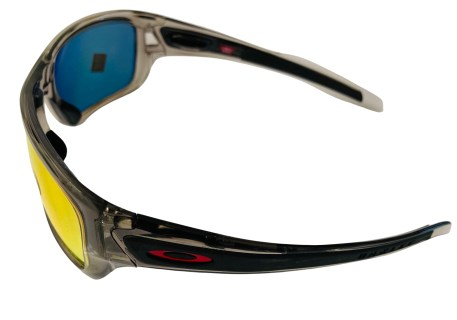 Oakley Turbine Sunglasses - Grey Ink POLARIZED Ruby Iridium OO9263 926310