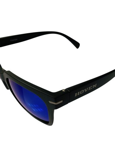 Hoven Vision The Merit Sunglasses - Matte Black POLARIZED Tahoe Blue