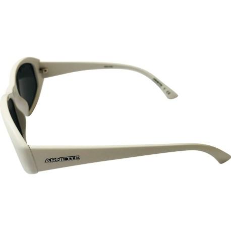 Arnette Lizard Sunglasses - White Frame - Grey Lens AN4266 262487