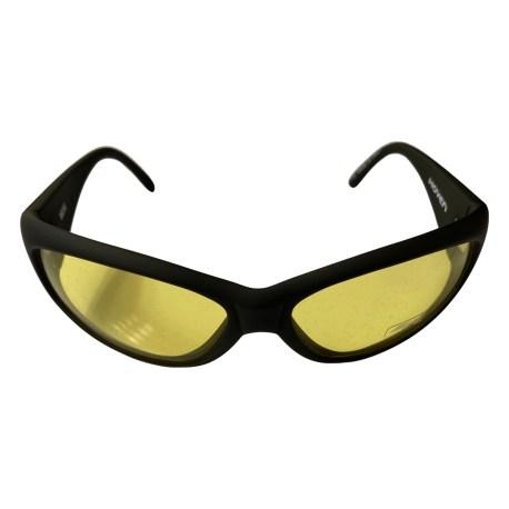 Hoven Vision Moxi Sunglasses - Matte Black Frame - Yellow Lens