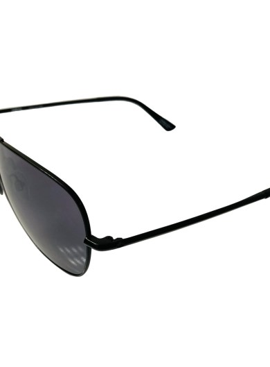 Spy Tatlow Sunglasses - Black Aviator - HD Plus Grey Green Black Spectra Mirror