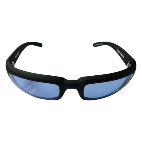 Hoven Drifter Sunglasses - Hoven Vision - Matte Black Frame - Blue Lens