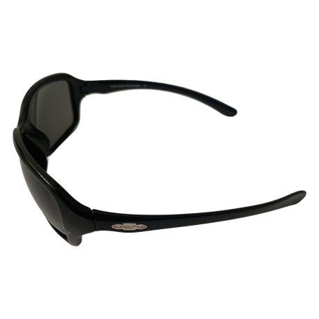Suncloud Fortune Sunglasses - Gloss Black Frame - Polarized Gray Lens