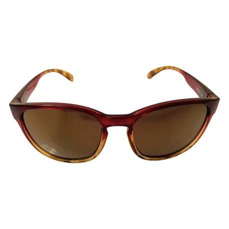 Suncloud Loveseat Sunglasses - Raspberry Tortoise Fade Frame - Polarized Sienna Mirror Lens