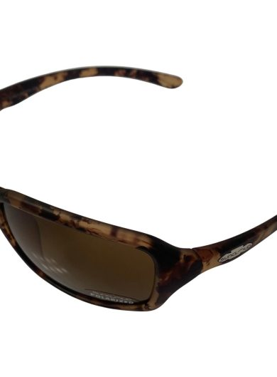 Suncloud Fortune Sunglasses - Matte Tortoise Evolve Frame - Small to Medium Fit - Polarized Brown Lenses