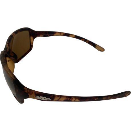 Suncloud Fortune Sunglasses - Matte Tortoise Evolve Frame - Small to Medium Fit - Polarized Brown Lenses