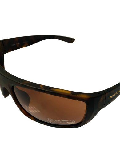Native Eyewear Distiller Sunglasses - Desert Tortoise POLARIZED Brown
