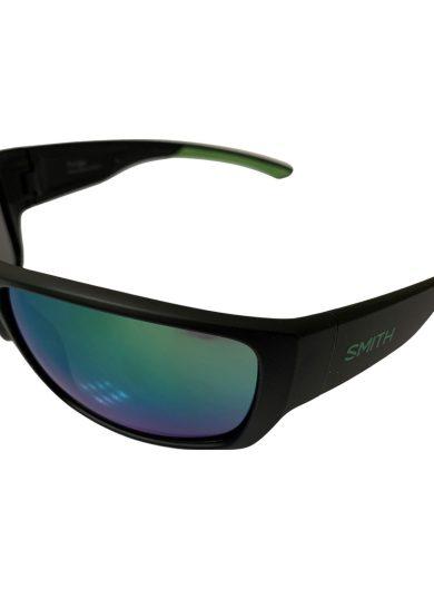 Smith Forge Sunglasses - Matte Black Green Evolve™ Bio-Based Frame - Green Mirror Lenses