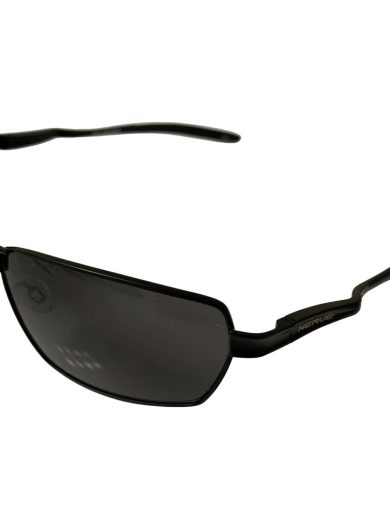 Optic Nerve Axel Sunglasses - Flash Black POLARIZED Smoke Lenses