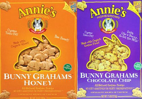 Voluntary Recall of Select Annies Bunny Grahams Native