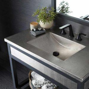 an integrated sink