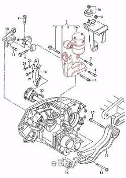 Vw T4 Transporter 4 Iv Gearbox Mounting Engine Hydraulic