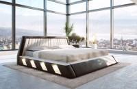 Designer Bett LENOX mit LED Beleuchtung von NATIVO Mbel