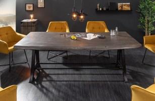 Esstisch TAURUS INDUSTRIAL 220 cm GREY von NATIVO Designer ...