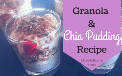Homemade Granola & Chia Pudding Recipe