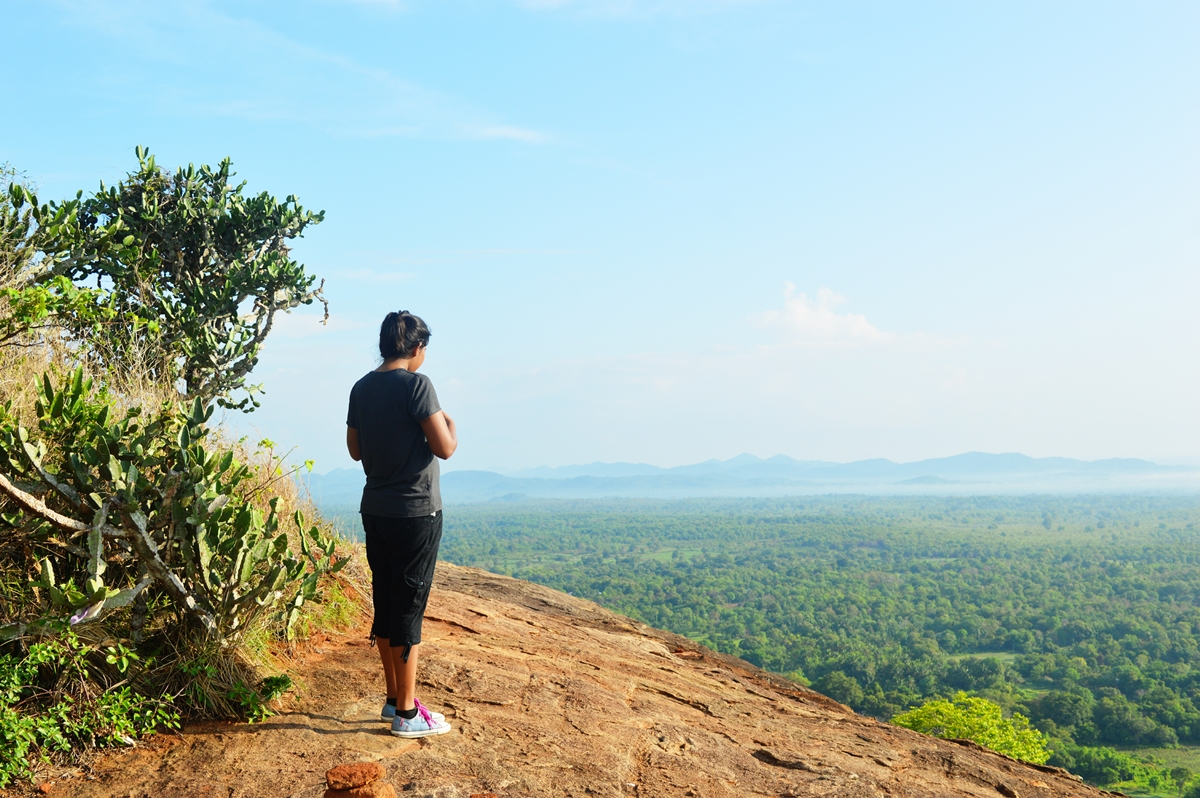 Hike To Pidurangala Rock