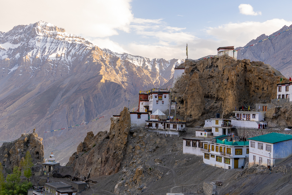 Dhankar Village Spiti Valley Himachal pradesh