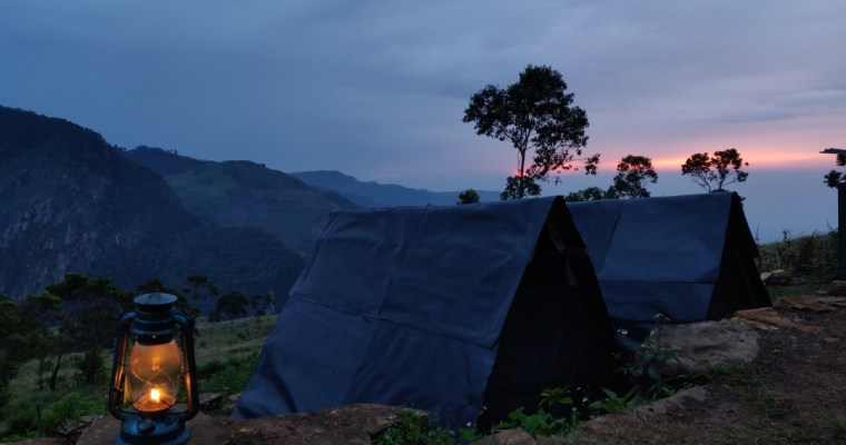 Camping in Sri Lanka – Two Days In The Mountains in Haputale