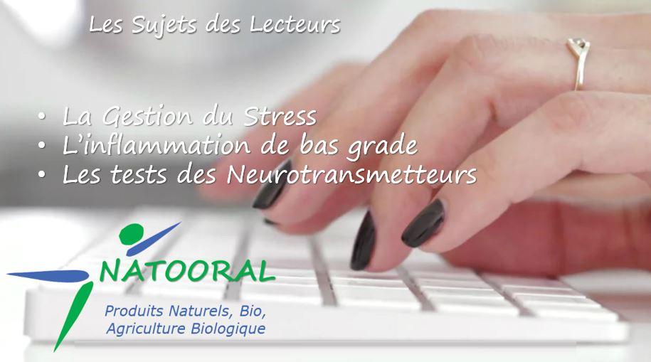 Stress-Inflammation-Neurotransmetteurs