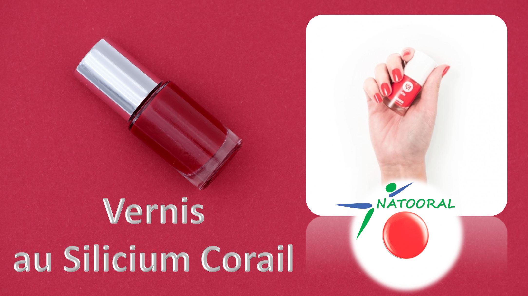 Ongles Vernis au Silicium Corail