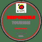 Logo Guía visual por un turismo seguro on SARS-CoV2
