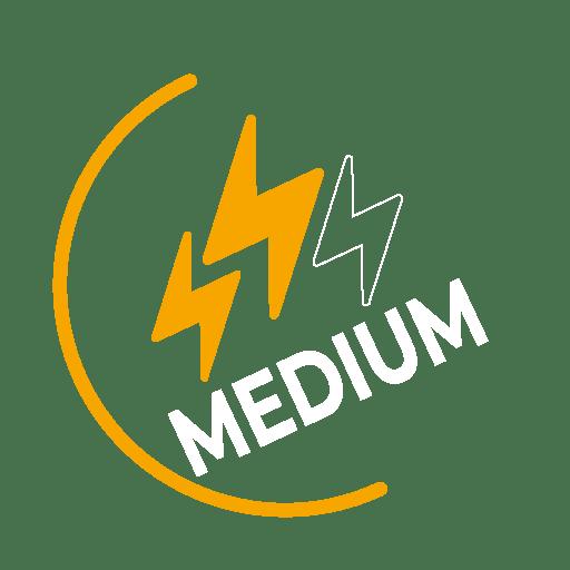 Medium level icon