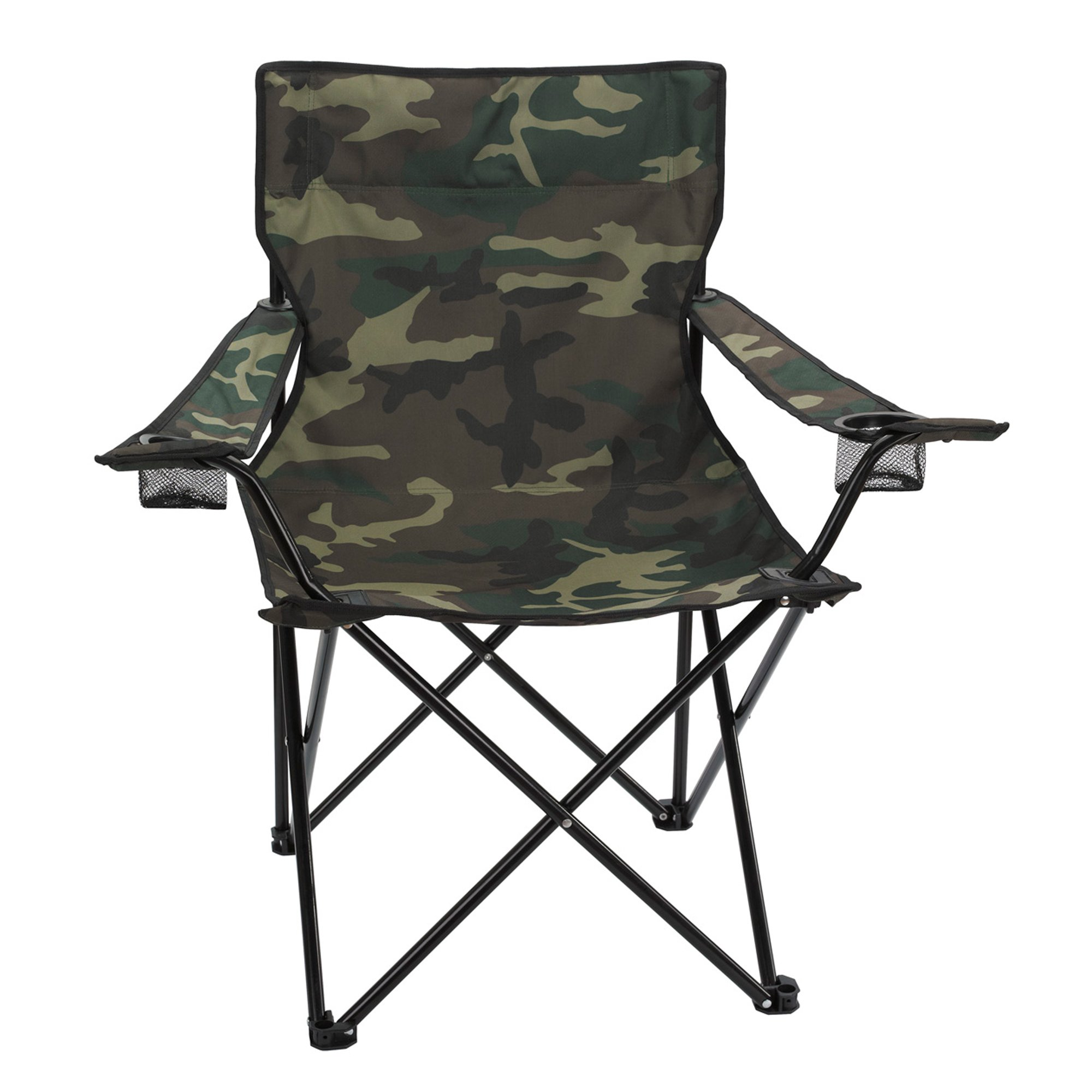 personalized folding chair foldable floor promotional camo with carrying bag