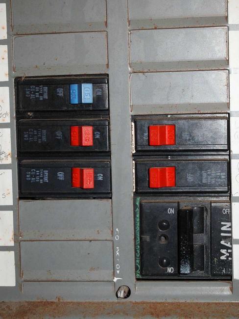 Bryant Circuit Breaker Panel