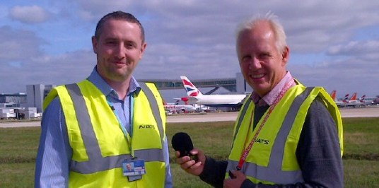 Steve Anderson meets Neil Pringle