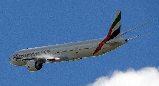 Emirates Boeing 777. Photo by VinTN via Flickr.