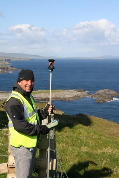 Working at a remote radar site