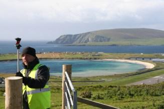 In the Shetland Islands