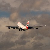 BA taking to skies over Heathrow