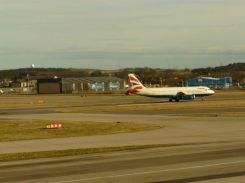 BA a regular visitor to Aberdeen Airport
