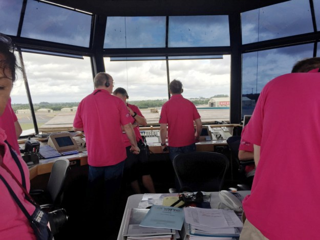 ATCOs in the tower RIAT2015