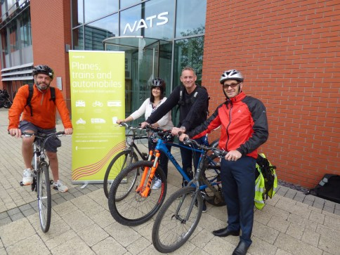 Launch of NATS cycling proficiency fund for school children