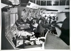 Heathrow air traffic control in the 1960s