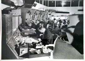 Heathrow air traffic control in the 1960s