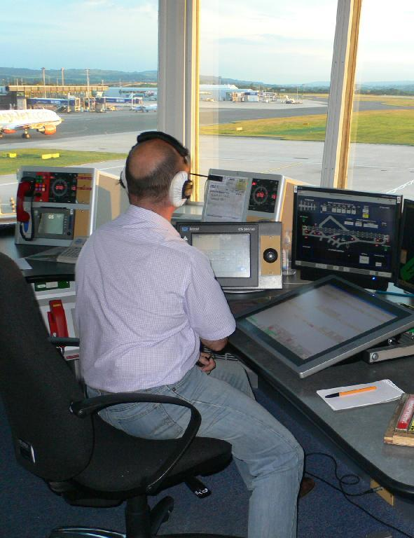 Glasgow Airport controller