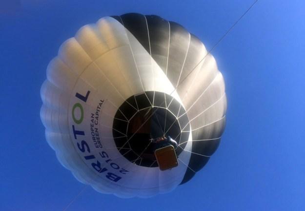 The world's first solar balloon [Image: Cameron Balloons]