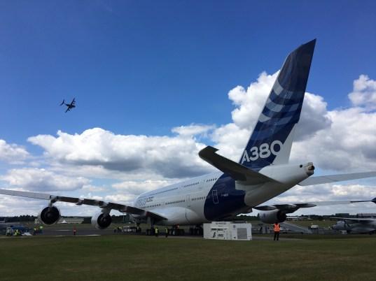 Farnborough Airshow A380