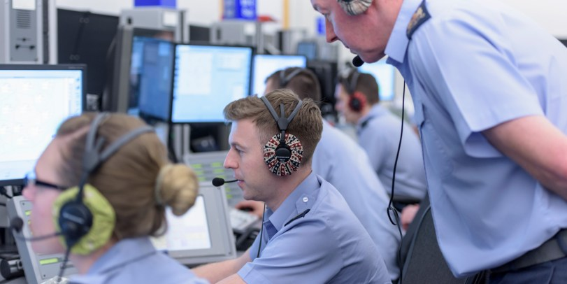 Military Controllers at Swanwick