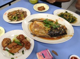 Day 2: Dinner at Chinatown, well known for it's fish head in chili.