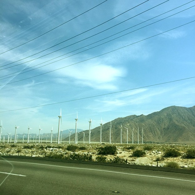 Palm Desert Windmills // Nattie on the Road