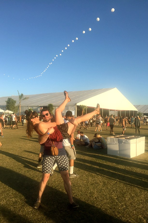 Nat & Rob at Coachella // Nattie on the Road